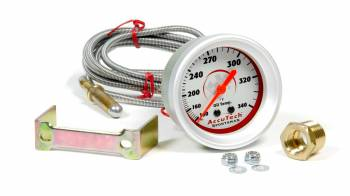 Longacre Racing Products - Longacre Oil Temp Gauge 100-340 Degrees AccuTech Sprtsman