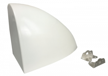 Allstar Performance - Allstar Performance Sprint Aero Fuel Tank Cover - White
