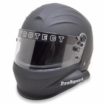 Pyrotect ProSport Side Forced Air Helmet - Flat Black