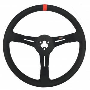 """MPI - MPI 14"""" LW Aluminum Wheel - Polyurethane Grip - 3-1/2"""" Dished"""