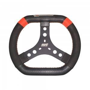 "MPI - MPI 12"" Aluminum Oval Wheel - High Grip - 1/2"" Dished"