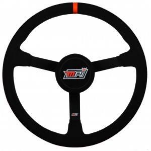 "MPI - MPI 16"" LW Steel Wheel - Suede Grip W/Thumb Insert - 3-1/2"" Dished"
