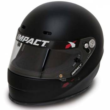 Impact - Impact 1320 Helmet - Medium - Flat Black
