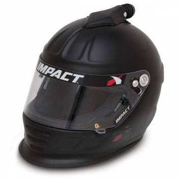 Impact - Impact Air Draft Top Air Helmet - Medium - Flat Black
