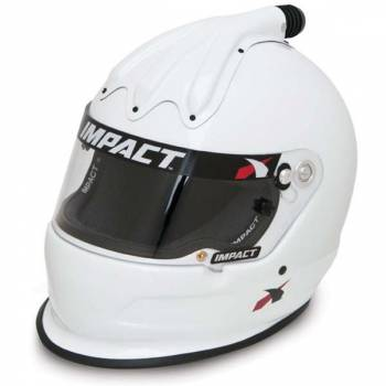 Impact - Impact Super Charger Top Air Helmet - X-Large - White