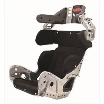 "Kirkey Racing Fabrication - Kirkey 89 Series 10 Degree Layback Containment Seat w/ Black Cover - 15"""