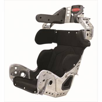 Kirkey Racing Fabrication - Kirkey 89 Series 10 Degree Layback Containment Seat w/ Black Cover - 16""