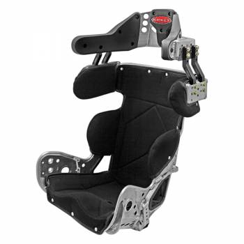 Kirkey Racing Fabrication - Kirkey 79 Series Deluxe Sprint Car Full Containment Seat w/ Black Cover - 10° Layback - 17""