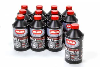 Amalie Oil - Amalie DOT 4 Brake Fluid - 8 oz. Bottle (Case of 12)