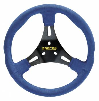 Sparco K300 Karting Steering Wheel - Blue 01590AN