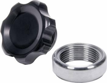 Allstar Performance - Allstar Performance Small Fill Plug Kit With Steel Weld-In Bung - Black