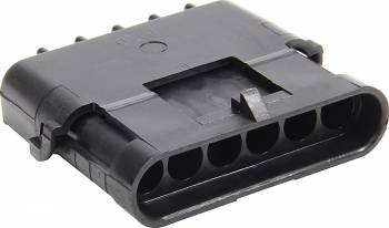 Allstar Performance - Allstar Performance 6 Pin Weather Pack, Shroud Housing - 10 Pack
