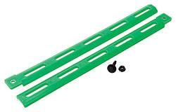 Allstar Performance - Allstar Performance Plastic Body Brace - Fluorescent Green (Pack of 4)
