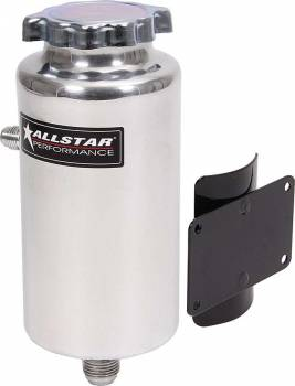 "Allstar Performance - Allstar Performance Power Steering Tank With 2-1/4"" x 3-1/2"" Flat Mount Bracket"