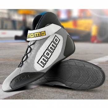 Momo - Momo GT PRO Racing Shoes - Grey - 46 (12/12.5)