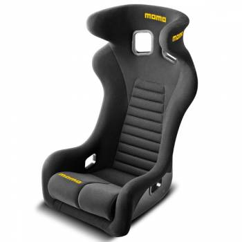 Momo - Momo Daytona Racing Seat - Black - XL