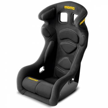Momo - Momo Lesmo One Racing Seat - Black - Regular