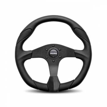 Momo - Momo Quark Steering Wheel Polyurethane - Black