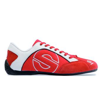 Sparco - Sparco Esse Shoe - Suede - Red