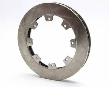 """AFCO Racing Products - AFCO Straight 32 Vane Lightweight Rotor - 11.75"""" Diameter x 1.25"""" Width - 8 x 7"""" Bolt Circle"""
