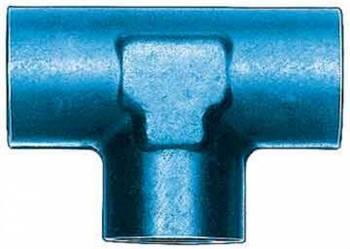 """Aeroquip - Aeroquip Aluminum 1/8"""" NPT Female Pipe Tee Adapter"""
