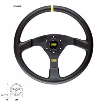 OMP Racing - OMP Velocita 350 Steering Wheel Black