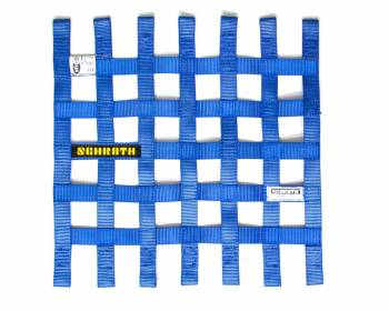 "Schroth Racing - Schroth 16"" x 16"" Window Net - Blue"