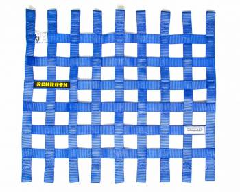 "Schroth Racing - Schroth 20"" x 18.5"" Window Net - Blue"