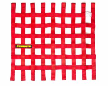 "Schroth Racing - Schroth 20"" x 18.5"" Window Net - Red"
