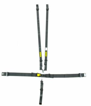 "Schroth Racing - Schroth 5-Point Latchlink III Harness System - Pull Down - Sub-belt Adjuster - V-Type - 2"" Shoulder - Black"