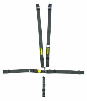 "Schroth Racing - Schroth 5-Point Latchlink III Harness System - Pull Up - V-Type - 3"" Shoulder - Black"