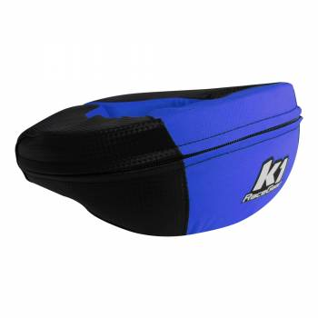 K1 RaceGear - K1 RaceGear Carbon-Look Neck Brace - Carbon/Blue