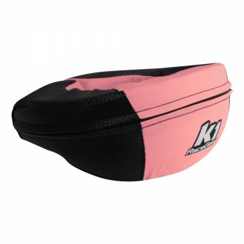 K1 RaceGear - K1 RaceGear Carbon-Look Neck Brace - Carbon/Pink