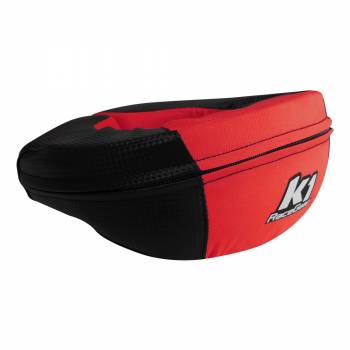 K1 RaceGear - K1 RaceGear Carbon-Look Neck Brace - Carbon/Red