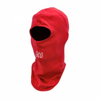 K1 RaceGear - K1 RaceGear Cotton Full Face Balaclava - Red