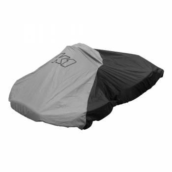 K1 RaceGear - K1 RaceGear Nylon Waterproof Kart Cover - Black