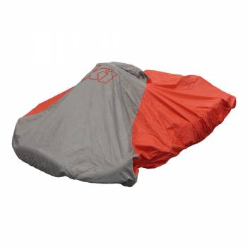 K1 RaceGear - K1 RaceGear Nylon Waterproof Kart Cover - Red