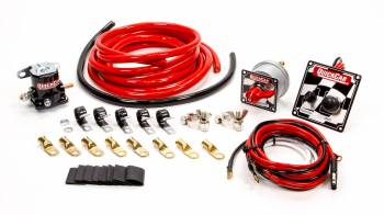 QuickCar Racing Products - QuickCar Wiring Kit 4 Gauge w/ 50-102 Panel