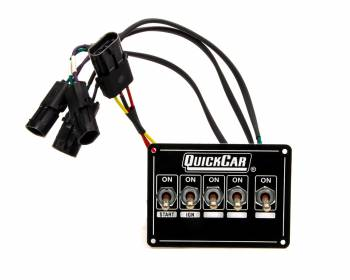 QuickCar Racing Products - QuickCar ICP Single Box Black Dual Trigger