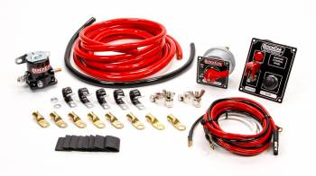 QuickCar Racing Products - QuickCar Wiring Kit 2 Gauge w/ Black 50-853 Panel