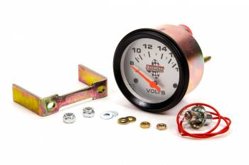 "QuickCar Racing Products - QuickCar Voltmeter Gauge 2-5/8""in"