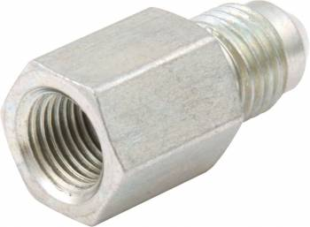 "QuickCar Racing Products - QuickCar Gauge Adapter 1/8"" NPT Female to -4an Male"