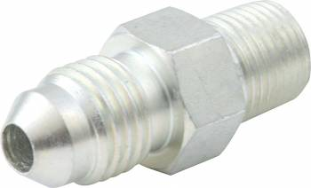 "QuickCar Racing Products - QuickCar Gauge Adapter 1/8"" NPT Male to -4an Male"
