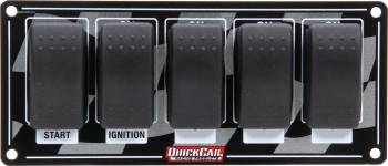 QuickCar Racing Products - QuickCar Ignition Panel w/ Rocker Switches