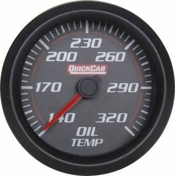 QuickCar Racing Products - QuickCar Redline Trans Temp Gauge