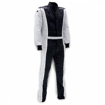 Impact - Impact Racer Firesuit - Black/Grey - Large