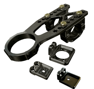 Triple X Race Co. - Triple X Clamp On Top Steering Mount Adjustable