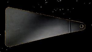 Triple X Race Components - Triple X Jacobs Ladder Cover Carbon Fiber