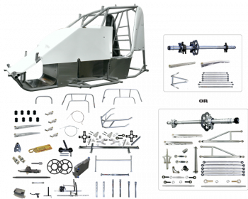 Triple X Race Components - Triple X Mini Sprint Super Deluxe Kit - Panhard Style
