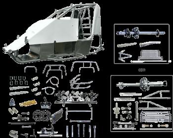 Triple X Race Co. - Triple X Mini Sprint Super Deluxe Kit - Panhard Style